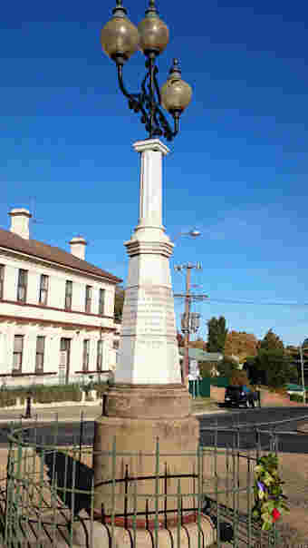photo of Boer War Memorial