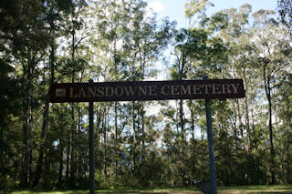 photo of Lansdowne Cemetery