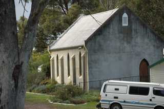 photo of Uniting's Church burial ground