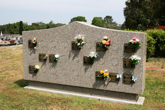 photo of Wall Memorial Section 2