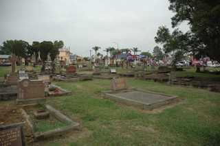 photo of St Matthews Catholic's Church burial ground