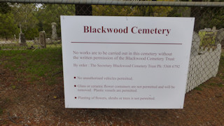 photo of Blackwood Cemetery