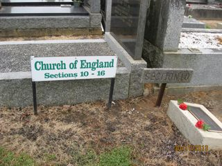 photo of Church of England (sections 10-16) Cemetery