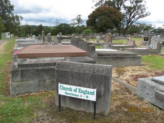 photo of Church of England's Church burial ground