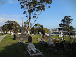 photo of Memorial Park (lower section) Cemetery