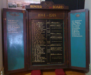 photo of Honour Board