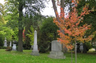 photo of Mount Pleasant Cemetery