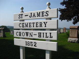 photo of St James Anglican Crown Hill's Church burial ground