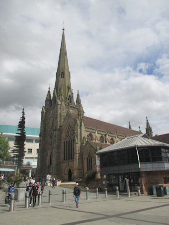photo of St Martin in the Bullring's monuments