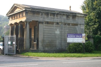 photo of Arnos Vale (part 2)'s Church burial ground