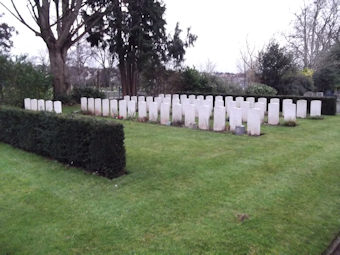 photo of Canford (rememberance corner) Military Cemetery