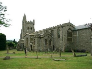 photo of St Mary Concentrated's Church burial ground