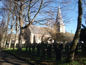 photo of St Brannock 3's Church burial ground