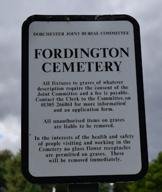 photo of Fordington Cemetery
