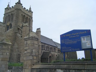 photo of St Hilda the Headland's Church burial ground