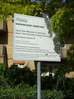 photo of Barkingside Cemetery