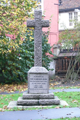 photo of St Botolph War Memorial