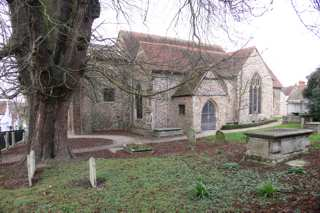 photo of St Martin's Church burial ground