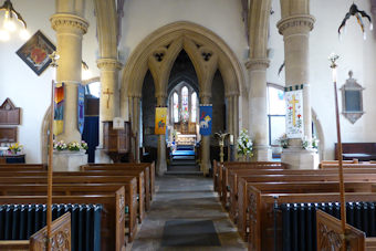 photo of St Mary (interior)'s monuments
