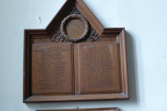 photo of St Mary (roll of honour WW1)
