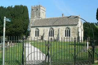 photo of St Stephen's Church burial ground