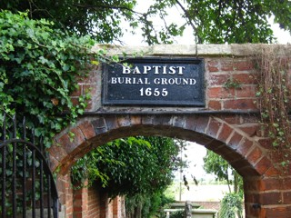 photo of Baptist's Church burial ground
