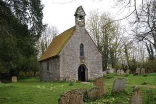 photo of St Bartholomew's Church burial ground