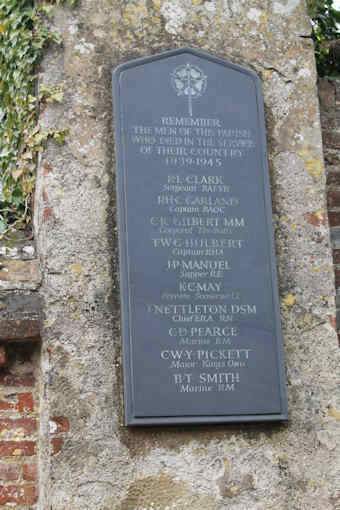 photo of St Mary and All Saints (roll of honour)
