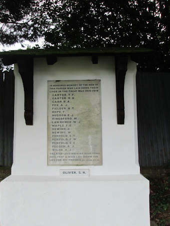 photo of War Memorial (Holy Innocents)