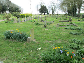 photo of St John the Baptist (annex)'s Church burial ground