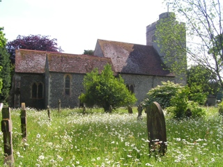 photo of St Mary and the Holy Cross' Church burial ground