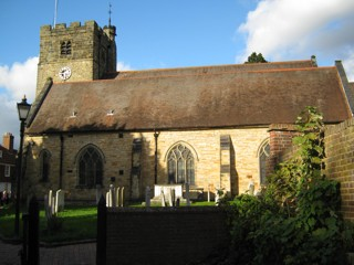 photo of St Peter and St Paul's Church burial ground