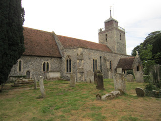 photo of St Mary (part 2)'s Church burial ground