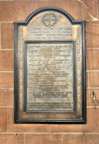 photo of St Mary Rolls of Honour