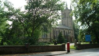 photo of St Peter's Church burial ground