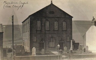 photo of Providence Chapel's Church burial ground