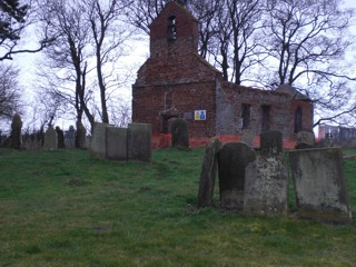 photo of St George's Church burial ground