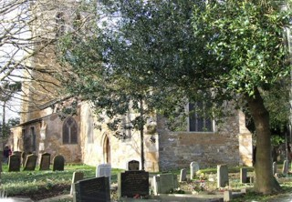 photo of St Nicholas' Church burial ground