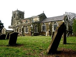 photo of St Edith's Church burial ground