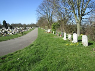 photo of Scartho Road (3rd north reserved border) Cemetery