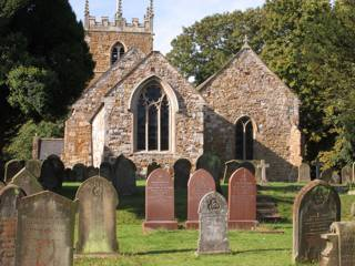 photo of St Helen's Church burial ground