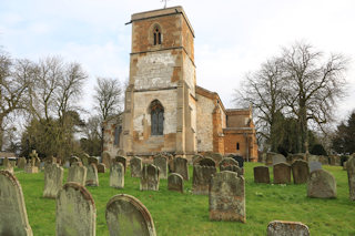 photo of St Andrew's Church burial ground