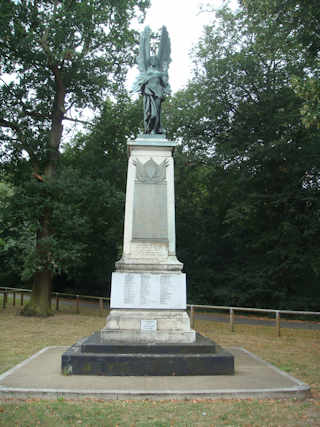 photo of WW1 War Memorial