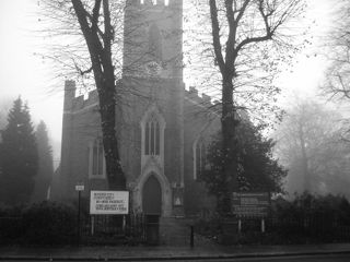 photo of St James' Church burial ground