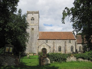photo of St Ethelbert's Church burial ground