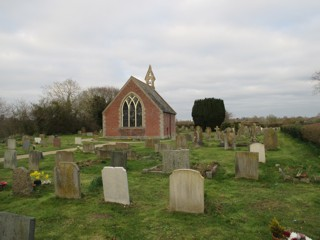 photo of Churchyard Extension's Church burial ground