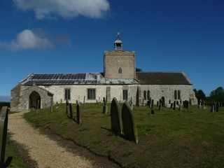 photo of St Clement's Church burial ground