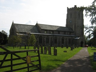 photo of St James the Great's Church burial ground