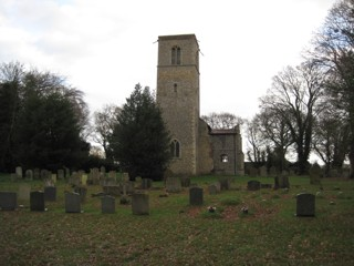 photo of St Giles' Church burial ground