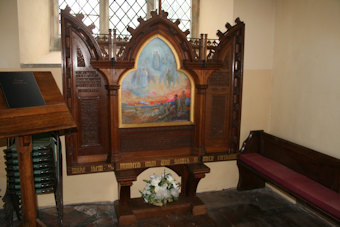 photo of All Saints (roll of honour)